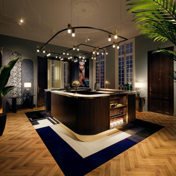 interieur visualisatie - Hotel Antwerpen